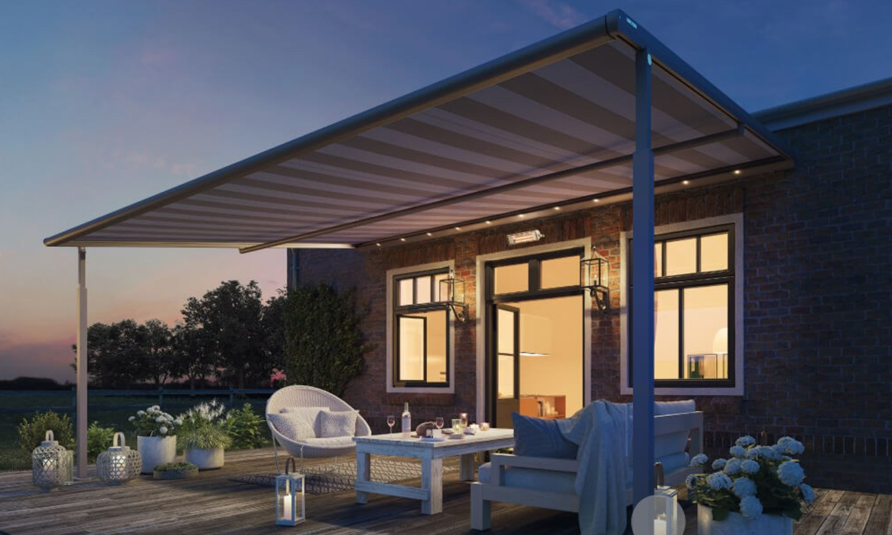 zonnescherm of knikarmscherm uw specialist in zonwering. Black Bedroom Furniture Sets. Home Design Ideas